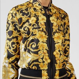 Brand new ! Versace collection bomber jacket